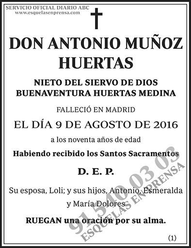 Antonio Muñoz Huertas